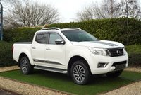 USED 2016 16 NISSAN NP300 NAVARA 2.3 DCI TEKNA 4X4 SHR DCB 190 BHP A VERY WELL PRESENTED AND CARED FOR EXAMPLE OF THE POPULAR NISSAN NAVARA WITH LOCKABLE ROLLER LID AND FITTED TOW BAR. NEW MOT AND NEW BATTERY READY FOR IMIDIETE WORK OR LEISURE