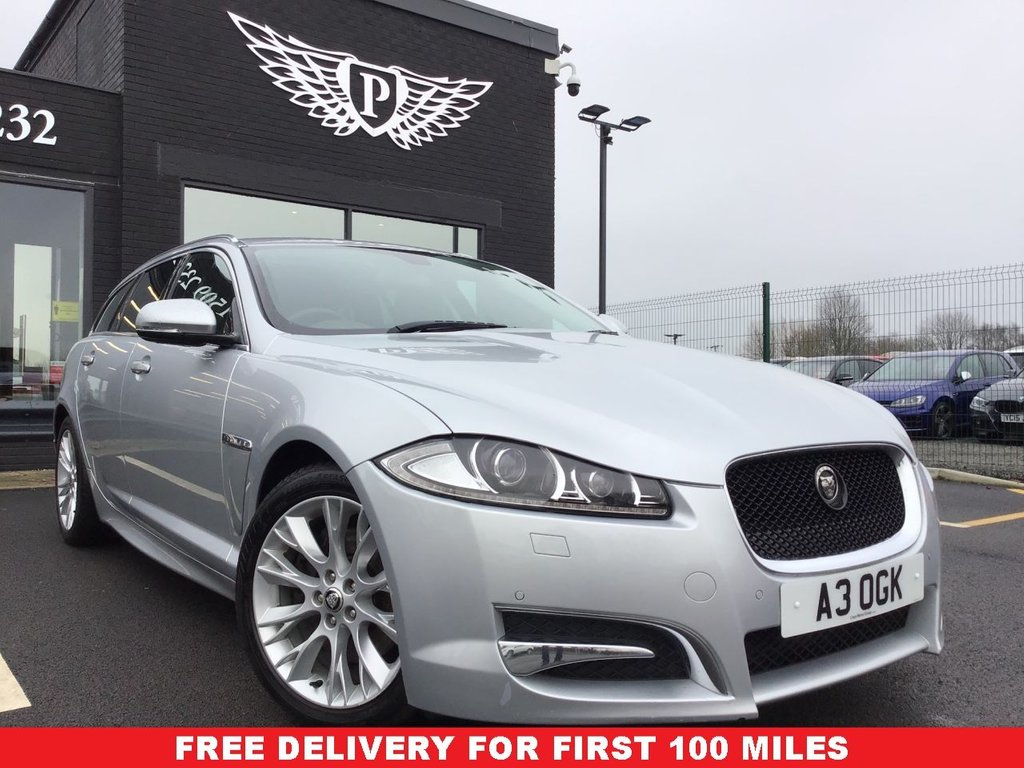 USED 2013 63 JAGUAR XF 2.2 D SPORT SPORTBRAKE 5d 200 BHP NATIONWIDE DELIVERY AVAILABLE!