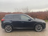 USED 2016 65 MAZDA CX-5 2.0 SPORT NAV 5d 163 BHP * 12 MONTHS FREE AA MEMBERSHIP * FULL BLACK LEATHER *