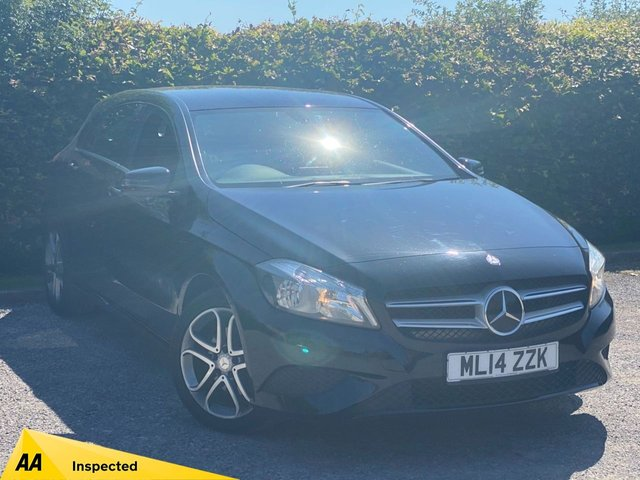 USED 2014 14 MERCEDES-BENZ A-CLASS 2.1 A200 CDI SPORT 5d 136 BHP * AUTOMATIC * DIESEL * 12 MONTHS FREE AA MEMBERSHIP *