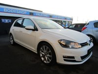 USED 2013 63 VOLKSWAGEN GOLF 2.0 GT TDI BLUEMOTION TECHNOLOGY 5d 148 BHP 10 SERVICES, SAT/NAV, DAB, BLUETOOTH, FRONT AND REAR PARK, TINTED GLASS