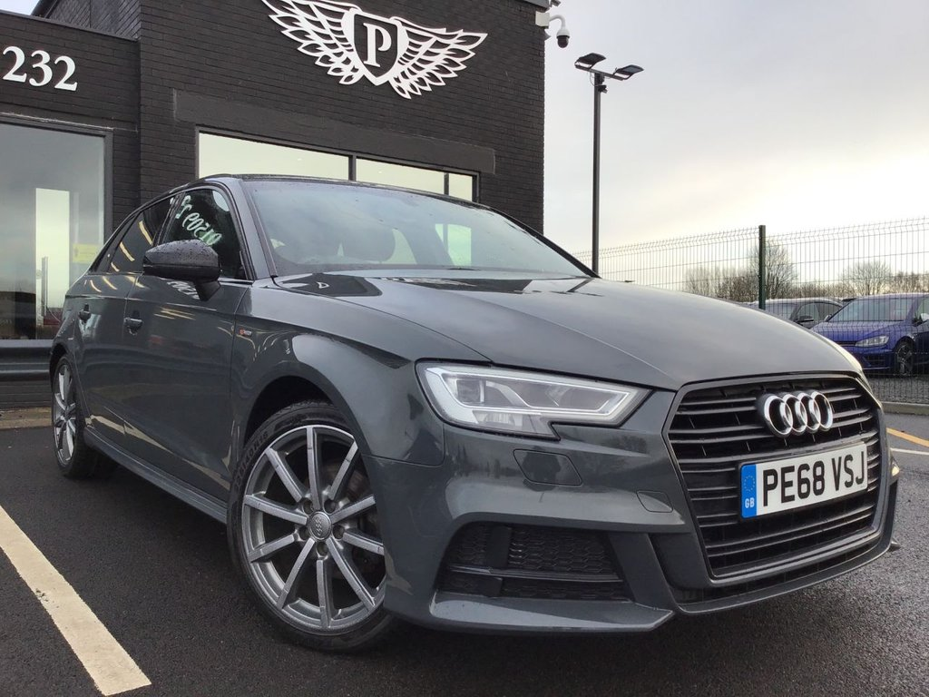 USED 2018 68 AUDI A3 1.6 TDI BLACK EDITION 5d 114 BHP (CATEGORY N) NATIONWIDE DELIVERY AVAILABLE!