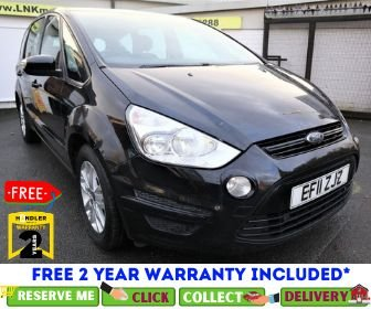 USED 2011 11 FORD S-MAX 1.6 ZETEC TDCI S/S 5d 115 BHP *CLICK & COLLECT OR DELIVERY