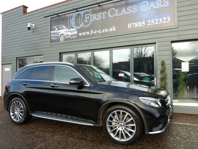 2018 68 MERCEDES-BENZ GLC-CLASS 3.0 GLC 350 D 4MATIC AMG LINE PREMIUM PLUS 5d 255 BHP