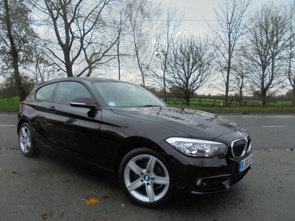USED 2016 66 BMW 1 SERIES 1.5 116D SPORT 3d 114 BHP