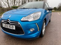 USED 2013 13 CITROEN DS3 1.6 E-HDI DSTYLE 3d 90 BHP