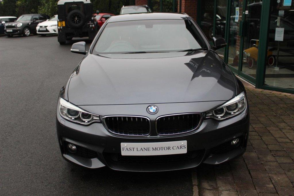 USED 2015 64 BMW 4 SERIES 2.0 420D M SPORT 2 DOOR COUPE 181 BHP