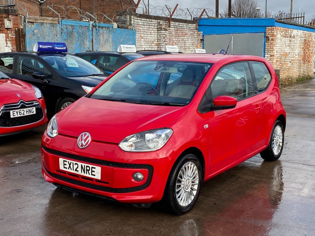 USED 2012 12 VOLKSWAGEN UP 1.0 HIGH UP 3d 74 BHP