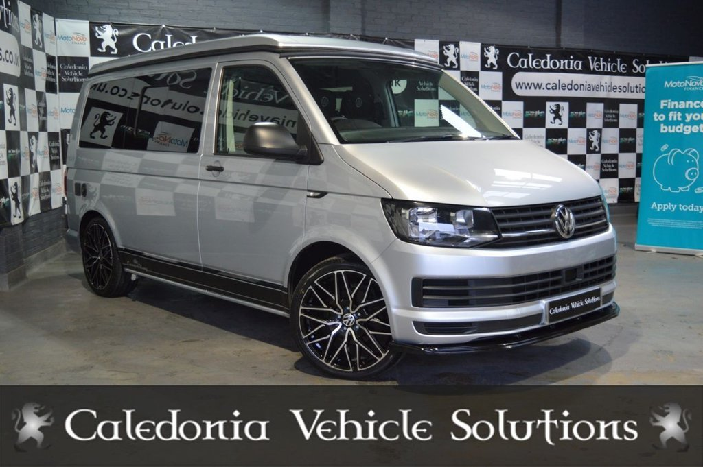 USED 2018 18 VOLKSWAGEN TRANSPORTER 2.0 T28 TDI 4 BERTH CAMPERVAN CONVERSION