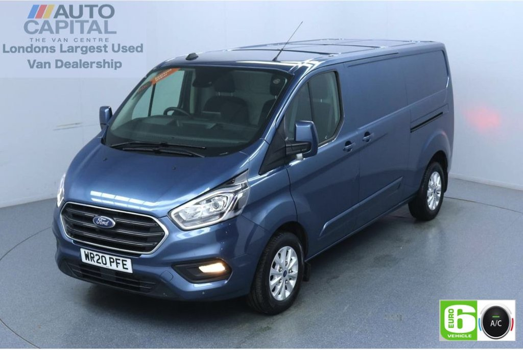 USED 2020 20 FORD TRANSIT CUSTOM 2.0 300 Limited EcoBlue 170 BHP L2 H1 Euro 6 Low Emission Eco Mode | Auto Start-Stop | Front and rear parking distance sensors