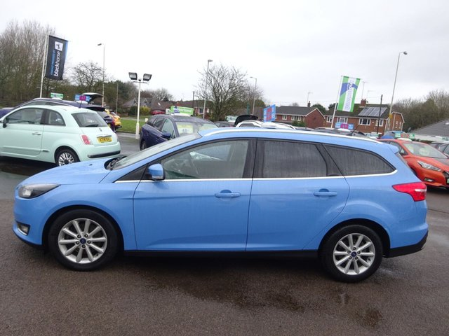 USED 2017 66 FORD FOCUS 2.0 TITANIUM TDCI 5d 148 BHP **JUST ARRIVED ****BUY NOW PAY NEXT YEAR**