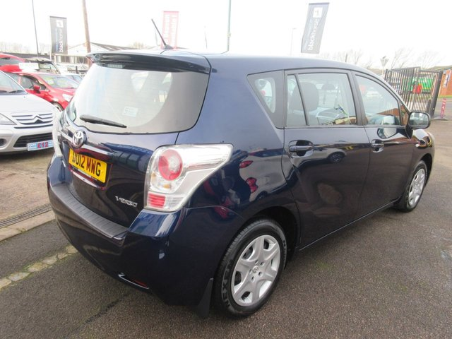 USED 2012 12 TOYOTA VERSO 1.6 T2 VALVEMATIC  5d 130 BHP **  JUST ARRIVED **