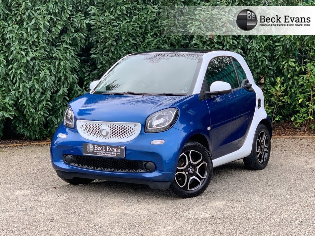 USED 2017 66 SMART FORTWO 1.0 PRIME 2d 71 BHP