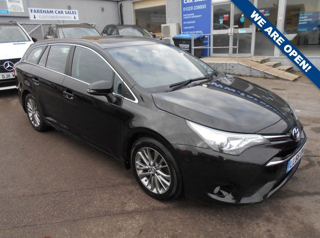 USED 2016 66 TOYOTA AVENSIS 2.0 D-4D BUSINESS EDITION 5d 141 BHP FANTASTIC CONDITION AND DRIVE