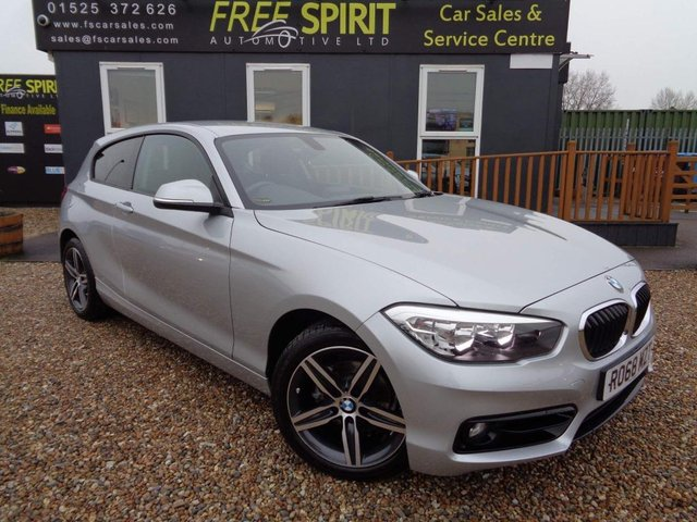 USED 2018 68 BMW 1 SERIES 1.5 118i GPF Sport Sports Hatch Auto (s/s) 3dr Nav, P-Sensors, Cruise, Phone
