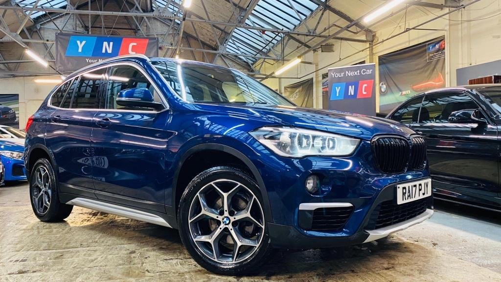 USED 2017 17 BMW X1 2.0 18d xLine Auto sDrive (s/s) 5dr YNCSTYLING+REVCAM+18S