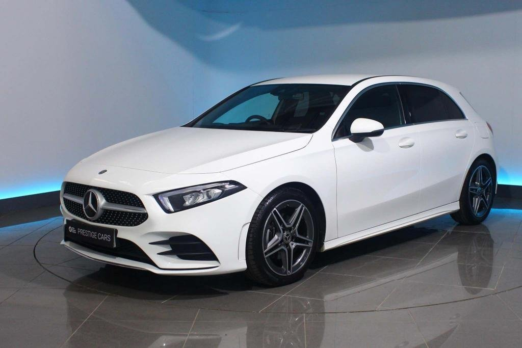 USED 2020 20 MERCEDES-BENZ A-CLASS 1.3 A180 AMG Line 7G-DCT (s/s) 5dr NAVIGATION - REAR CAMERA - DAB