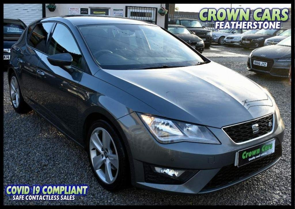 USED 2013 63 SEAT LEON 2.0 TDI CR CR FR (s/s) 5dr FREE FINANCE ELIGIBILITY CHECK