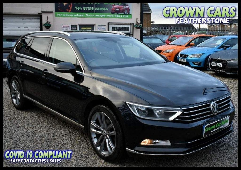 USED 2016 65 VOLKSWAGEN PASSAT 2.0 TDI BlueMotion Tech GT (s/s) 5dr FREE FINANCE ELIGIBILITY CHECK