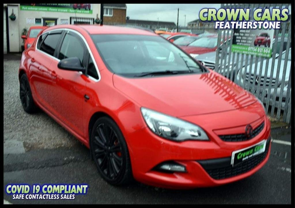 USED 2012 12 VAUXHALL ASTRA 2.0 CDTi SRi VX Line (s/s) 5dr FREE FINANCE ELIGIBILITY CHECK