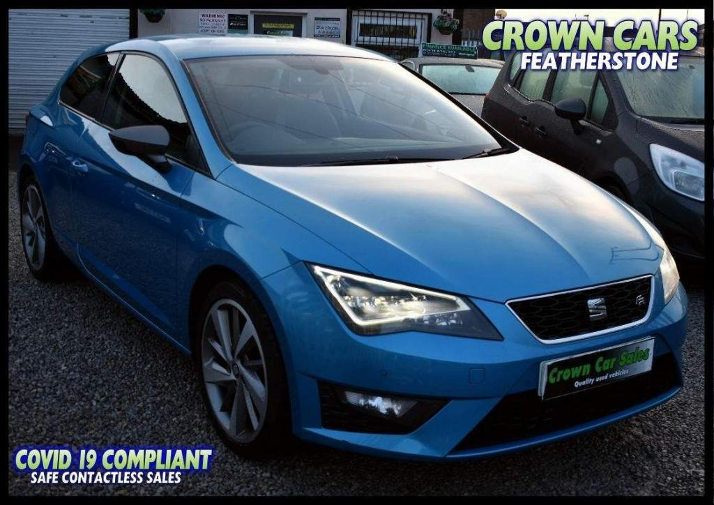 USED 2015 15 SEAT LEON 2.0 TDI CR CR FR (Tech Pack) SportCoupe (s/s) 3dr FREE FINANCE ELIGIBILITY CHECK