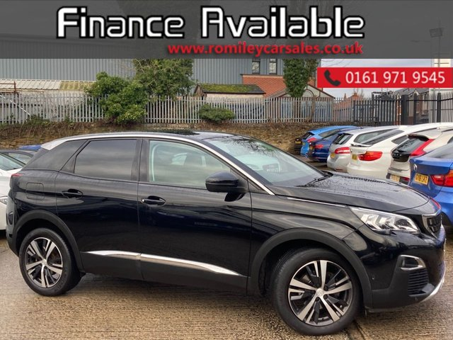 USED 2018 18 PEUGEOT 3008 1.6 BLUEHDI S/S ALLURE 5d 120 BHP FULL SERVICE RECORD - ALLOY WHEELS - SAT NAV - BLUETOOTH CONNECTION