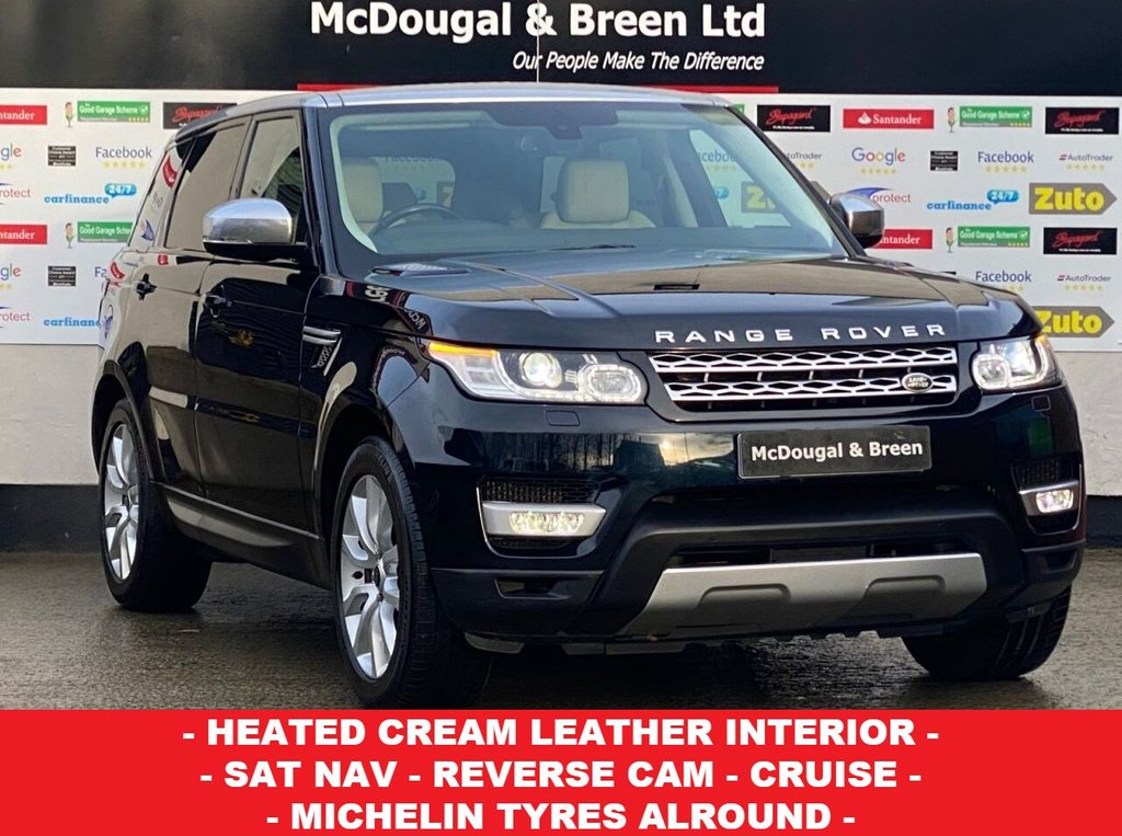 USED 2014 14 LAND ROVER RANGE ROVER SPORT 3.0L SDV6 HSE 5d AUTO 288 BHP