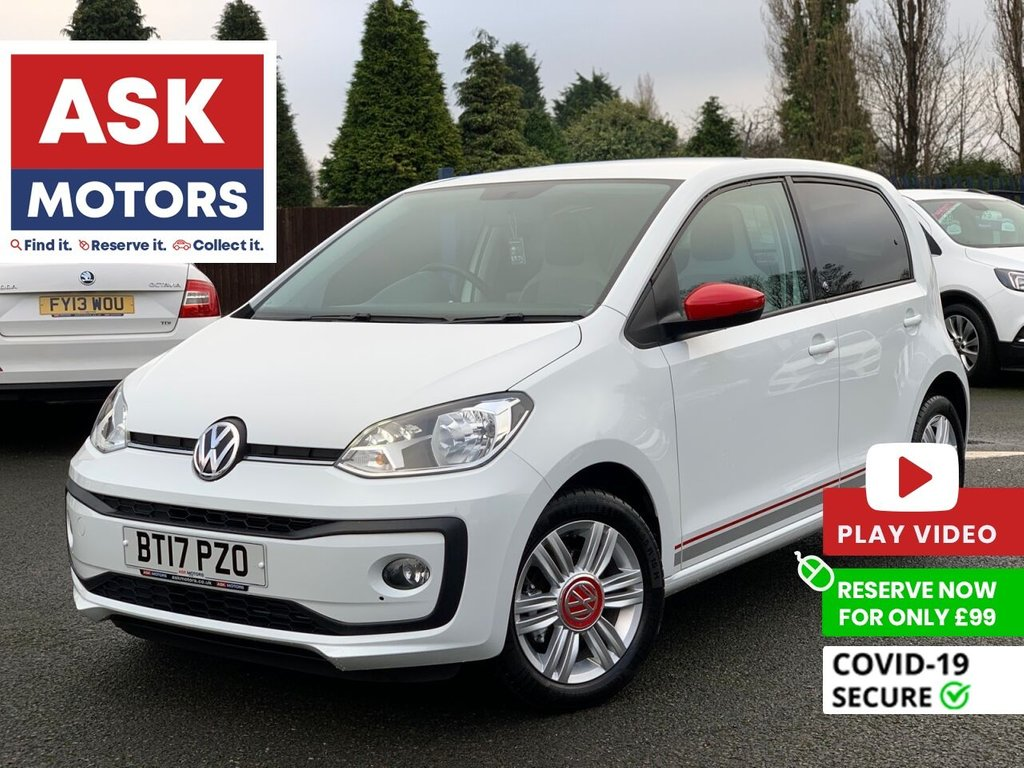 USED 2017 17 VOLKSWAGEN UP 1.0 UP BY BEATS 5d 74 BHP AUTOMATIC