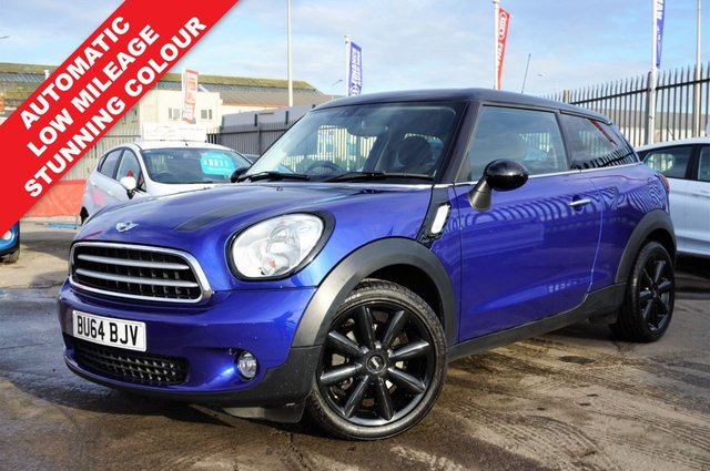 USED 2014 64 MINI COOPER 2.0 COOPER D AUTOMATIC 3d 112 BHP ONLY 34K MILES, STUNNING EXAMPLE