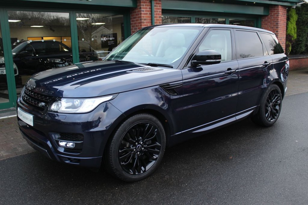USED 2016 66 LAND ROVER RANGE ROVER SPORT 3.0 SDV6 HSE DYNAMIC 5d 306 BHP