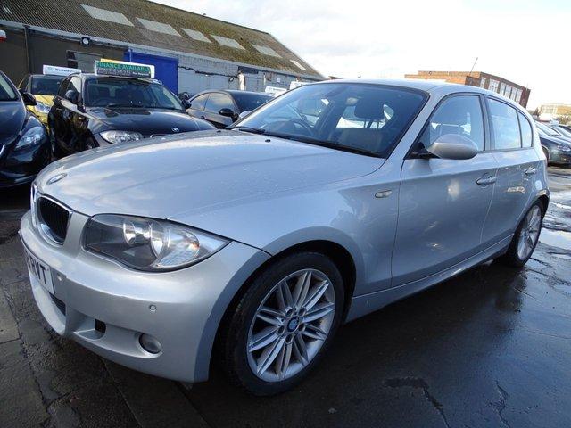 USED 2008 58 BMW 1 SERIES 2.0 118D M SPORT 5d 141 BHP