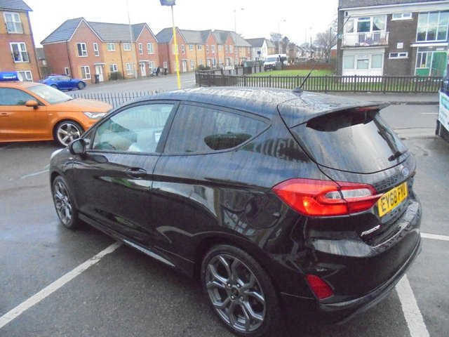 USED 2018 68 FORD FIESTA 1.0 ST-LINE 3d 124 BHP **BOOK YOUR TEST DRIVE NOW **