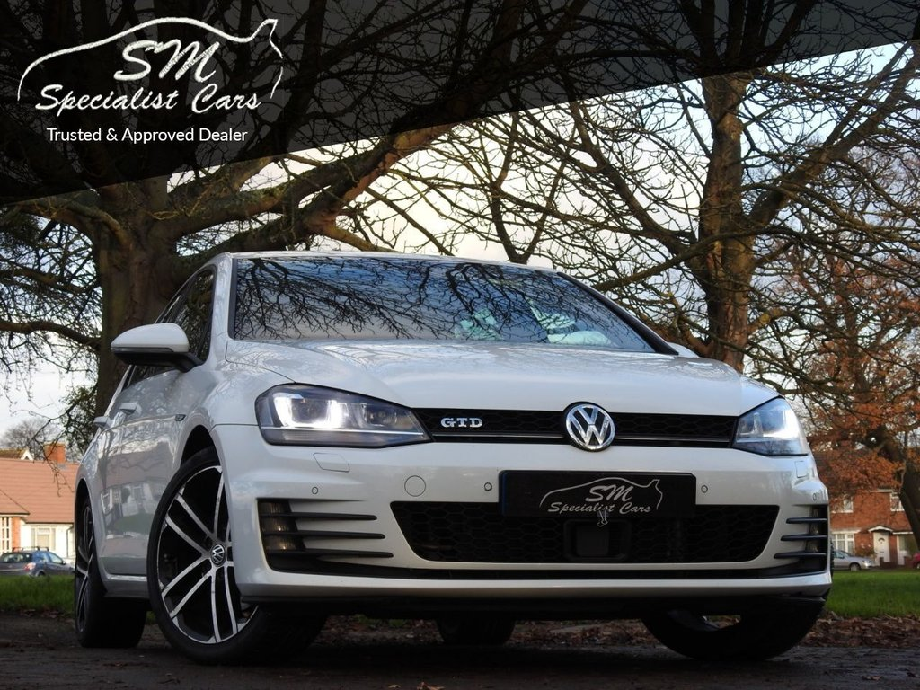 USED 2015 15 VOLKSWAGEN GOLF 2.0 GTD 5d 181 BHP ONLY 43K FROM NEW A/C VGC