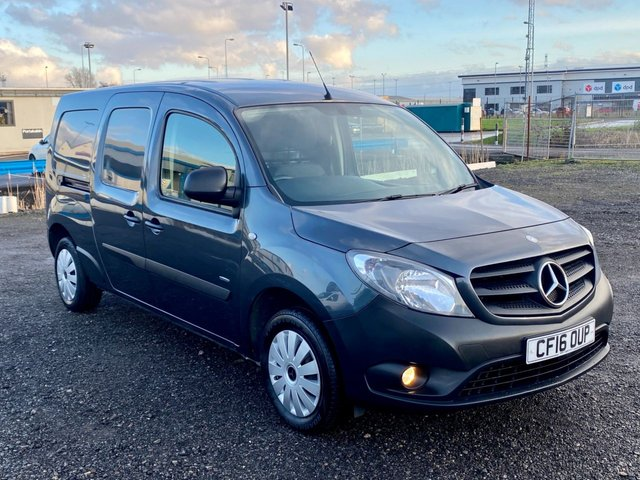 2016 16 MERCEDES-BENZ CITAN 1.5 109 CDI BLUEEFFICIENCY XLWB