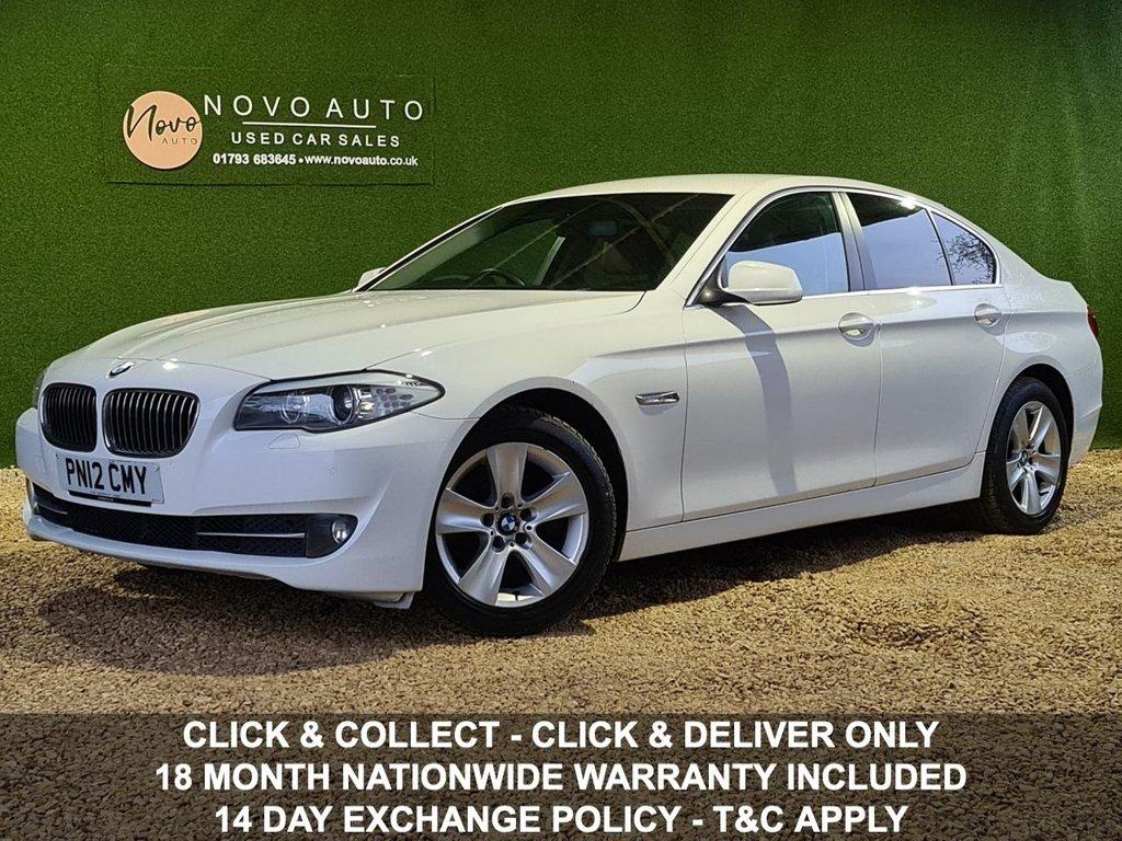 USED 2012 12 BMW 5 SERIES 2.0 520D EFFICIENTDYNAMICS 4d 181 BHP