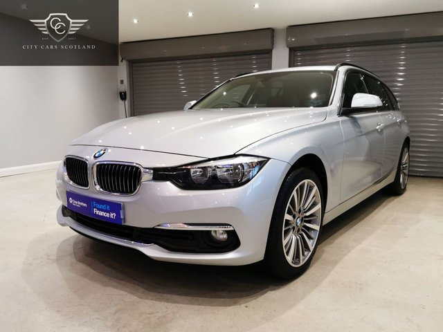 USED 2016 16 BMW 3 SERIES 2.0 320D XDRIVE LUXURY TOURING 5d 188 BHP SATELLITE NAVIGATION + HEATED LEATHER UPHOLSTERY + POWER OPEN TAIL GATE