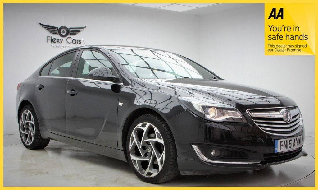 USED 2015 15 VAUXHALL INSIGNIA 1.4 LIMITED EDITION S/S 5d 138 BHP