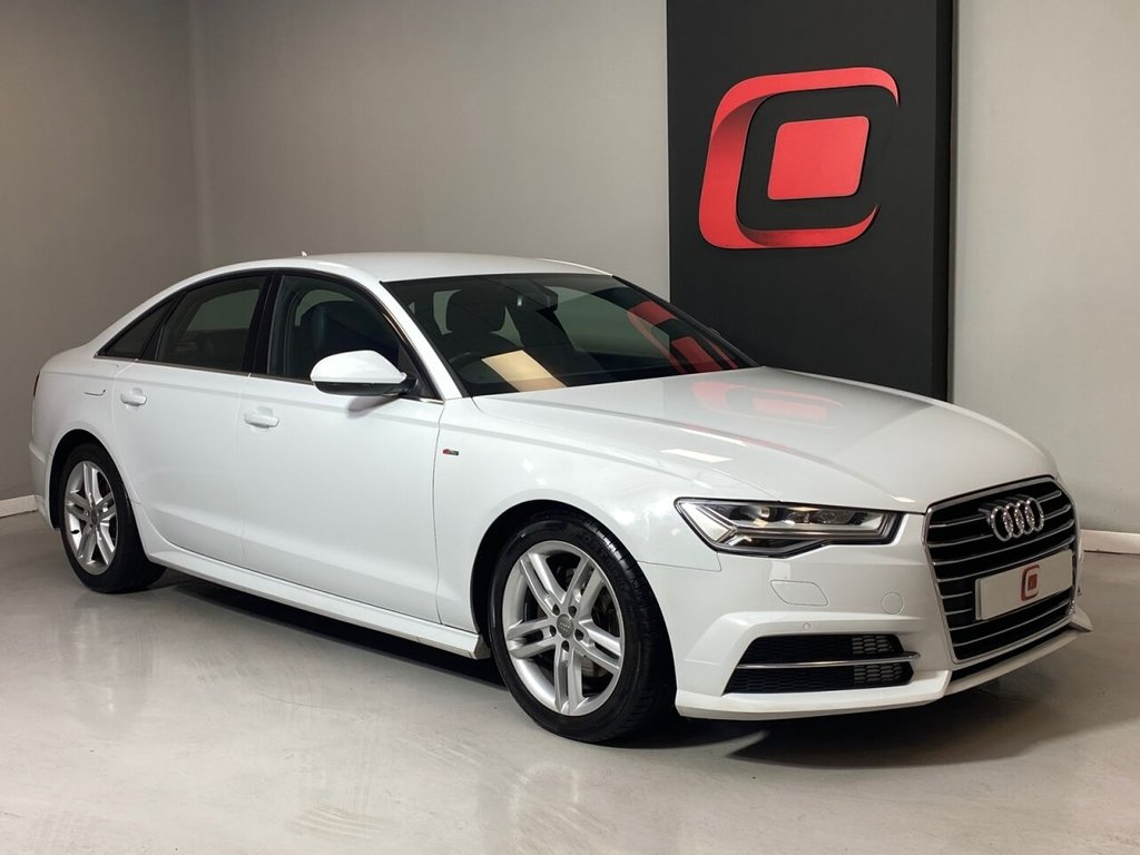 USED 2015 15 AUDI A6 2.0 TDI ULTRA S LINE S-TRONIC 190 BHP LOW MILES + SAT NAV + LEATHER + AUTOMATIC