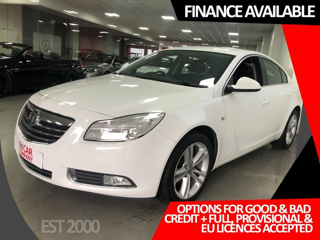 USED 2013 13 VAUXHALL INSIGNIA 2.0 EXCLUSIV CDTI 5d 157 BHP * 6 STAMPS * JULY 2021 MOT * LAST SERVICE JUNE 2020 *