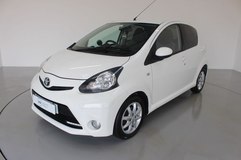USED 2014 63 TOYOTA AYGO 1.0 VVT-I MODE 5d-2 FORMER KEEPERS-0 ROAD TAX, ALLOY WHEELS-RADIO