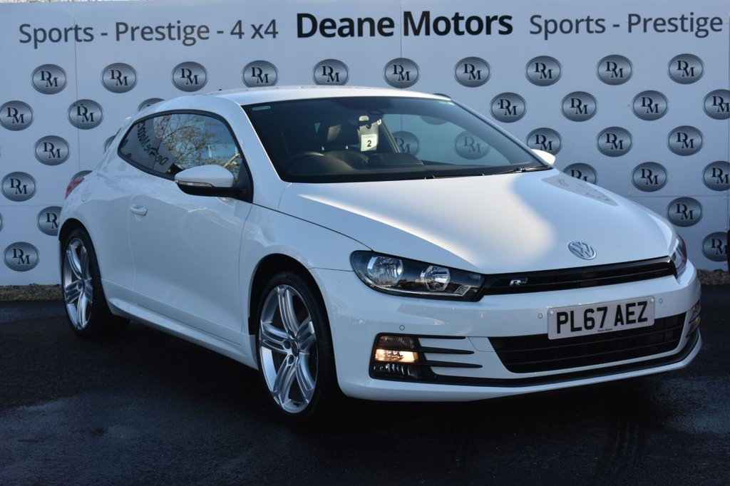 USED 2018 67 VOLKSWAGEN SCIROCCO 2.0 R LINE TSI BLUEMOTION TECHNOLOGY 2d 178 BHP BEAUTIFUL EXAMPLE
