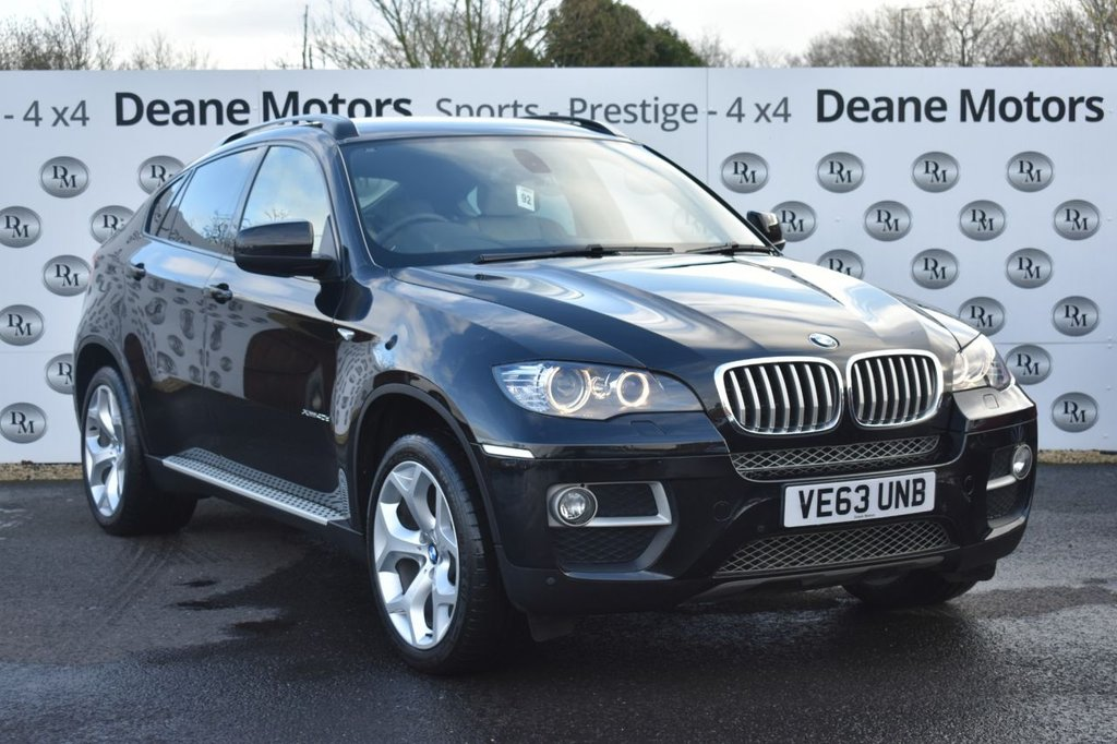 USED 2014 63 BMW X6 3.0 XDRIVE40D 4d 302 BHP FABULOUS SPEC
