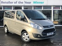 USED 2017 17 FORD TOURNEO CUSTOM 2.0 310 TITANIUM TDCI SWB Low Roof 5d 8 Seat MPV with NO VAT TO PAY and Lovely High Spec inc Air Con Privacy Glass DAB Radio Bluetooth Ft & Rr Parking Sensors Power Steering Towbar Recent Service & MOT 2 New Tyres and New Brakes now ready to Finance and Drive Away  NO VAT TO PAY