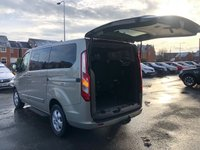 USED 2017 17 FORD TOURNEO CUSTOM 2.0 310 TITANIUM High Spec TDCI 5d 8 Seat MPV with NO VAT TO PAY Very High Spec inc Air Con Privacy Glass DAB Radio Bluetooth Ft & Rr Parking Sensors Power Steering Towbar Recent Service & MOT 2 New Tyres New Brakes now ready to Finance and Drive Away Today  NO VAT TO PAY