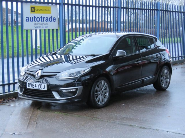 USED 2014 64 RENAULT MEGANE 1.6 GT LINE TOMTOM ENERGY DCI S/S 5d 130 Sat nav 1/2 Leather Privacy Bluetooth Alloys Finance arranged Part exchange available Open 7 days