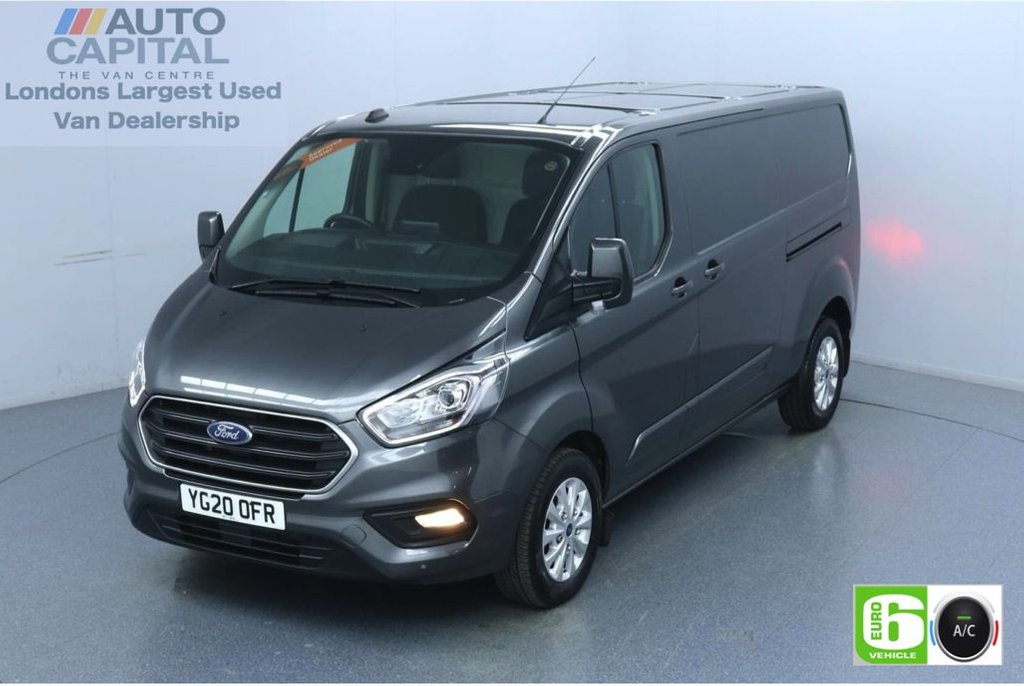 USED 2020 20 FORD TRANSIT CUSTOM 2.0 300 Limited EcoBlue 130 BHP L2 H1 Euro 6 Low Emission Finance Available Online | Eco Mode | Auto Start-Stop | Front and rear parking distance sensors