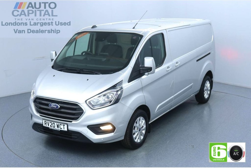 USED 2020 20 FORD TRANSIT CUSTOM 2.0 300 Limited EcoBlue 130 BHP L2 H1 Euro 6 Low Emission AppLink | Ford SYNC 3 | Apple CarPlay | Eco | Air Con | Start/Stop | F-R Sensors