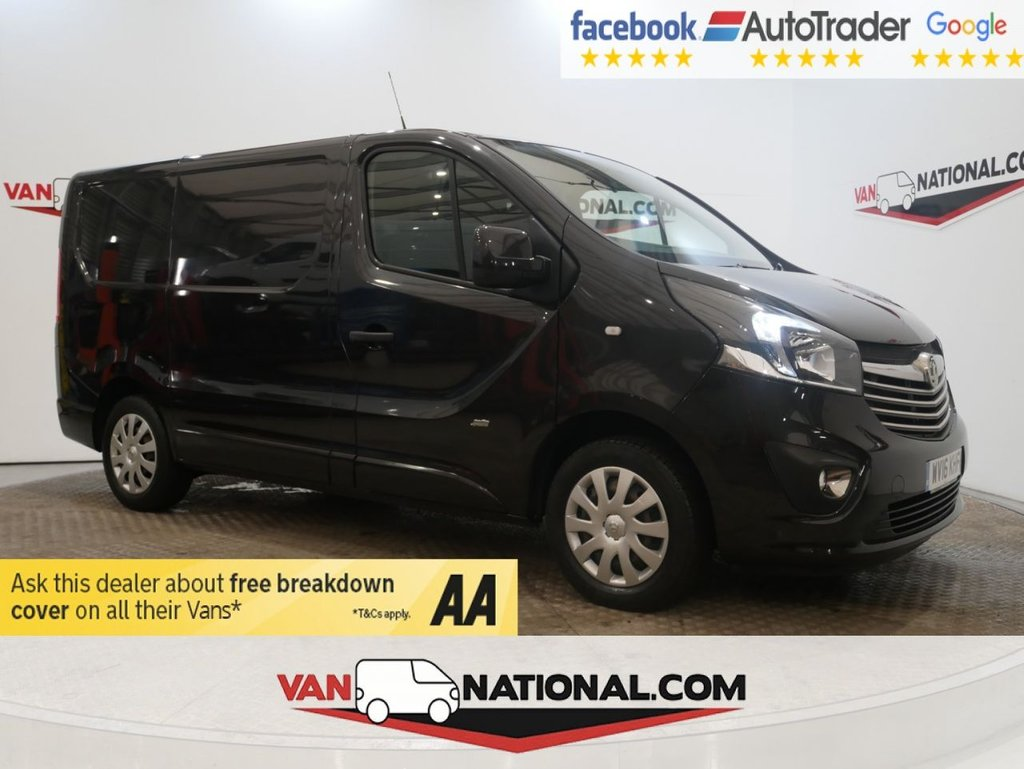 USED 2016 16 VAUXHALL VIVARO 1.6 2700 L1 H1 CDTI P/V SPORTIVE ECOFLEX S/S 120 BHP *AIR CON*TAILGATE* * ONE OWNER * AIR CON * TAILGATE * ZERO DEPOSIT FINANCE AVAILABLE *