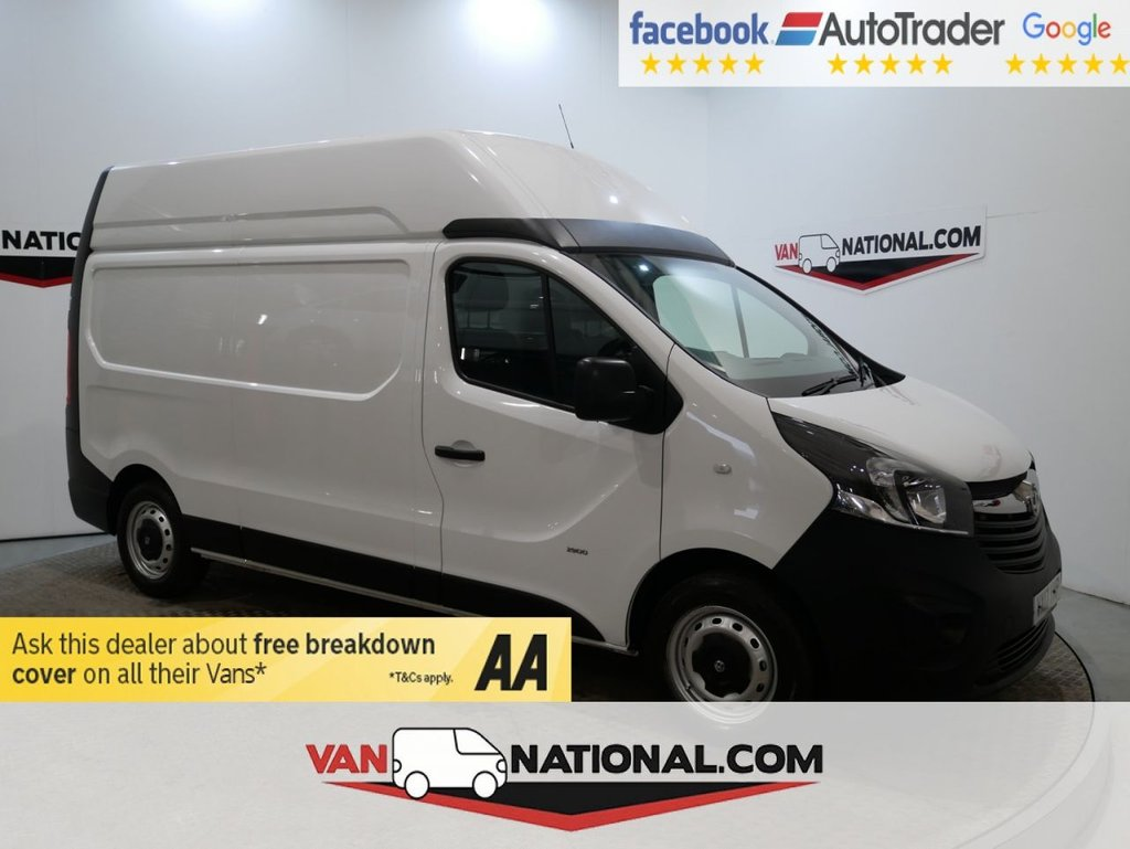 USED 2017 17 VAUXHALL VIVARO 1.6 L2H2 2900 CDTI BITURBO S/S 125 BHP (LWB HIGH ROOF AND AIR CON ) * ONE OWNER * L2 H2 * EURO 6 * ZERO DEPOSIT FINANCE AVAILABLE *