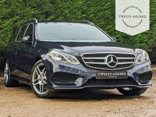 USED 2014 14 MERCEDES-BENZ E-CLASS 3.0 E350 BLUETEC AMG SPORT 5d AUTO 249 BHP (1 OWNER FROM NEW)
